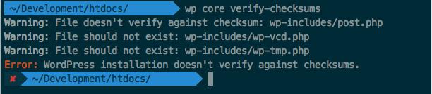 Checksum Error