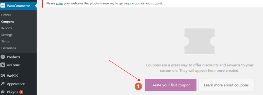 WooCommerce Coupon Page