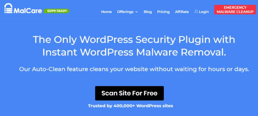 Malcare WordPress Security Plugin