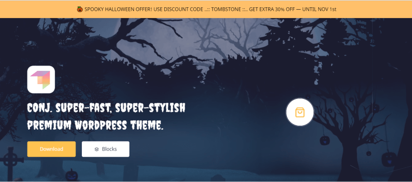 CONJ WordPress Theme