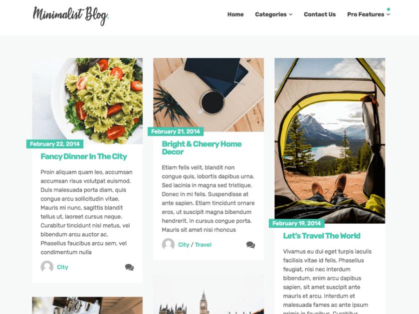 21 Best Minimalist WordPress Themes for 2020! 15