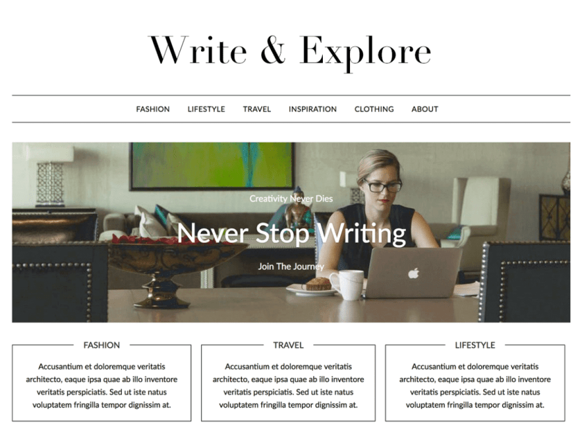21 Best Minimalist WordPress Themes for 2020! 4