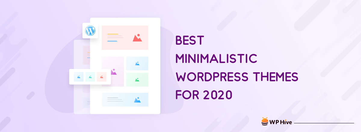 20 Best Minimalist WordPress Themes