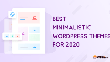 21 Best Minimalist WordPress Themes for 2020! 2