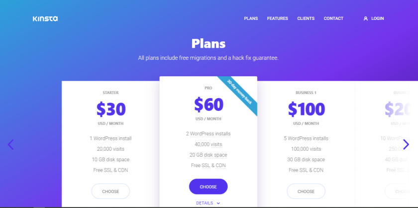 Kinsta-WordPress Hosting Providers