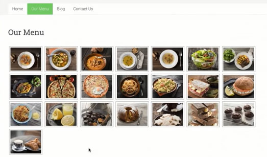 screenshot showing media like images, videos in WordPress posts and pages on bluehost