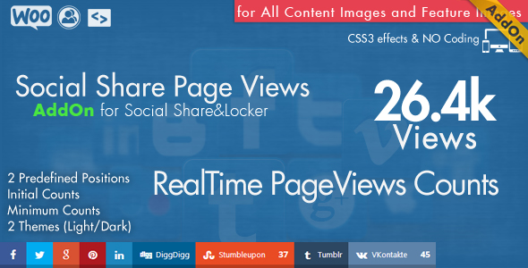 Social Share top Bar AddOn - WordPress 8