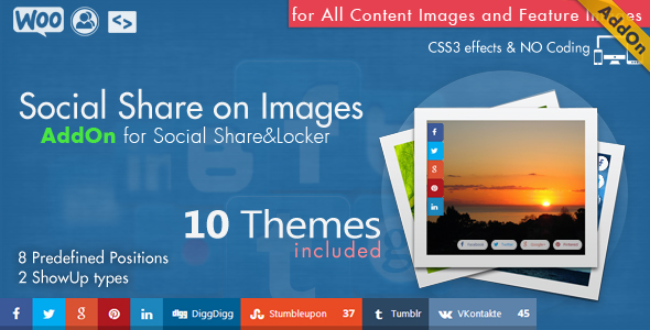 Social Share top Bar AddOn - WordPress 9