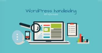 Gratis WordPress handleiding