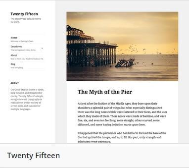 2015 Theme WordPress