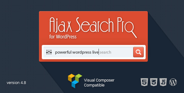 Ajax search pro zoekfunctie plugin wordpress