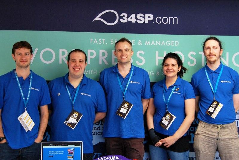 WordCamp Belfast 34SP.com Team