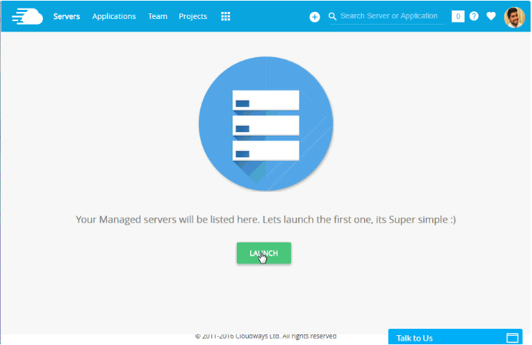 Add Server Cloudways Cloud Hosting