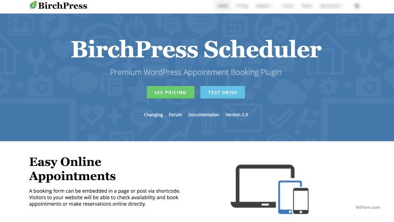 BirchPress Scheduler WordPress Appointment Booking Plugin