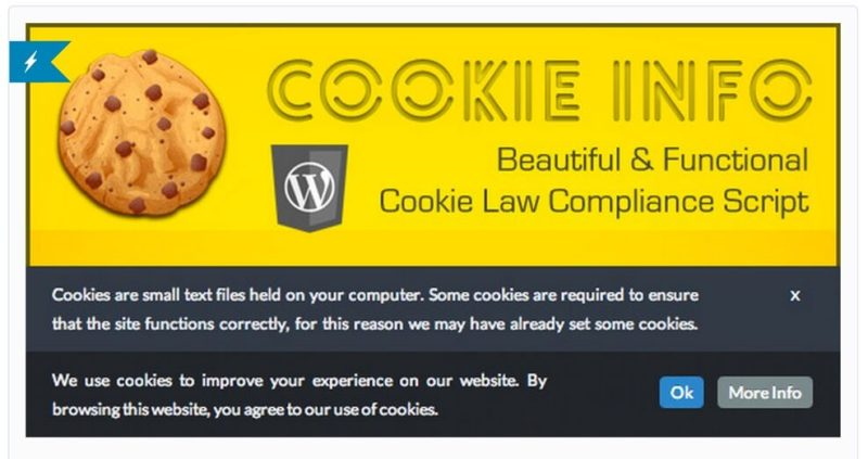 Cookie Info CodeCanyon WordPress Plugin