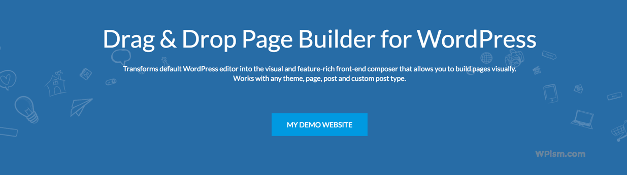 Demo Website of MotoPress drag and drop page builder