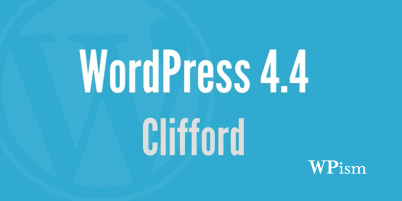 Download WordPress 4.4 Clifford