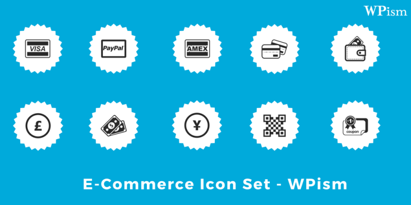 Ecommerce Icon Set Free Download