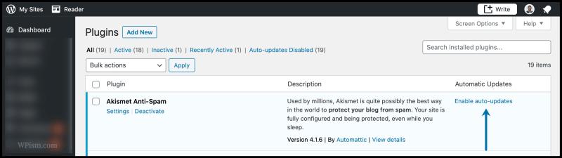 Enable Auto Update Plugins WordPress 5.5
