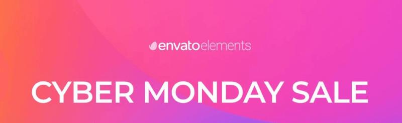Envato Elements Cyber Monday Sale 20