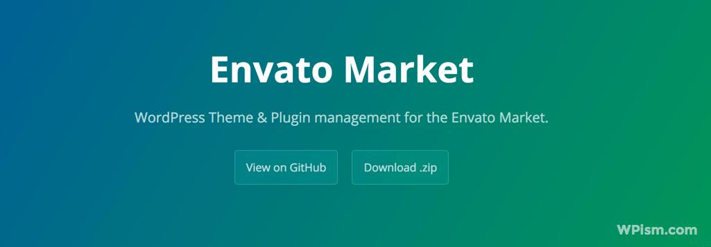 Envato Market GitHub page Download