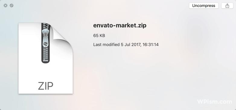 Envato Market Plugin archive download