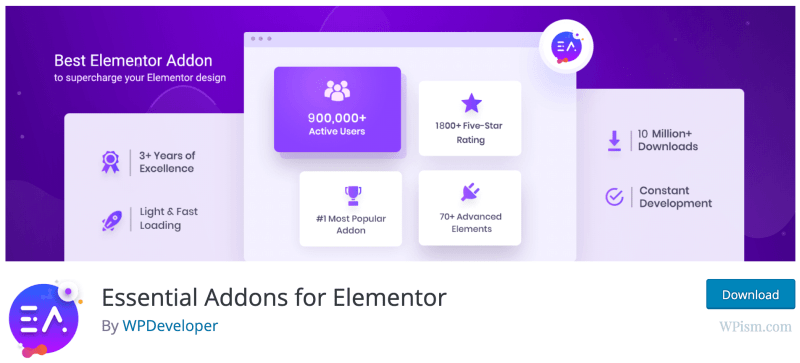 Essential for Elementor Addons Free
