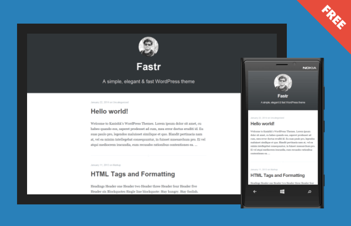 Fastr Theme By Kanishk Kunal Medium WordPress Theme
