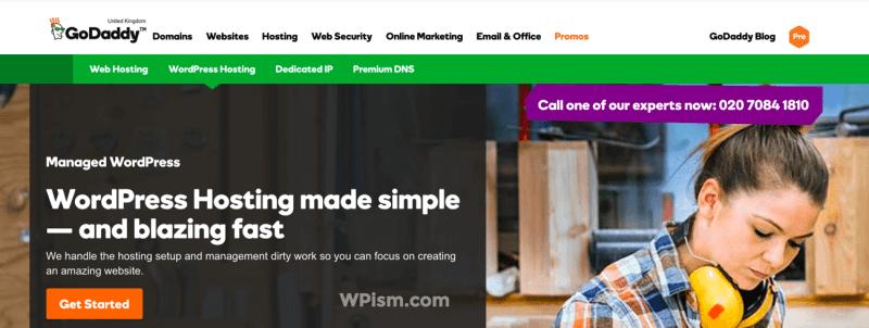 Godaddy WordPress Hosting Business Solution
