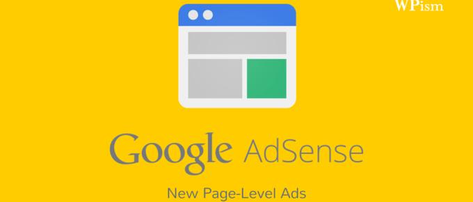 Google Adsense Page Level Ads