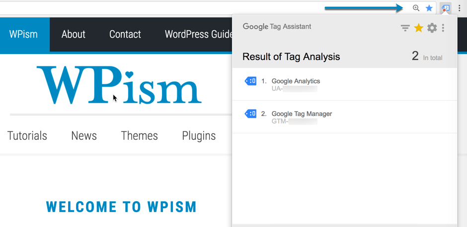 Google Analytics and Tag manager Tag Analysis