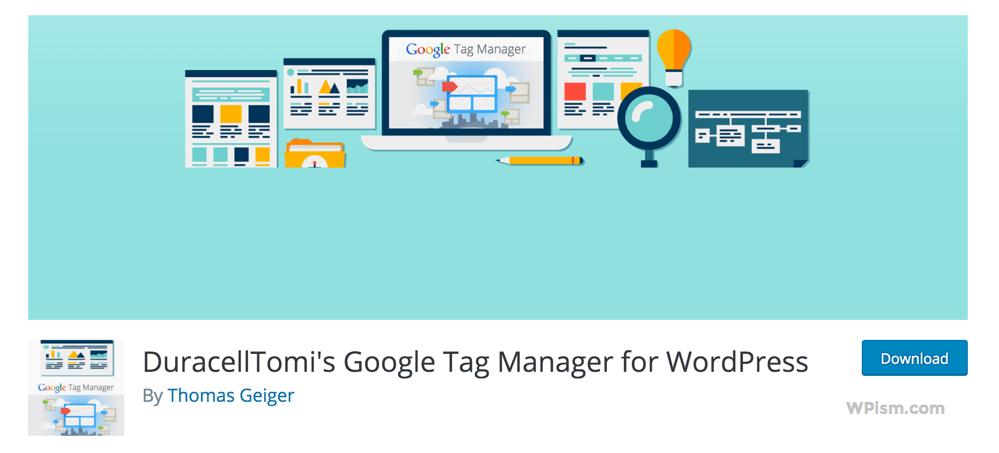 Google Tag Manager for WordPress Plugin Download