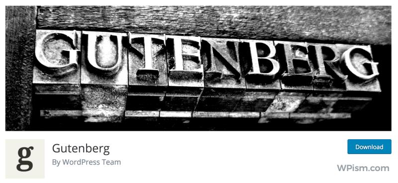 Gutenberg WordPress Editor Plugin Download