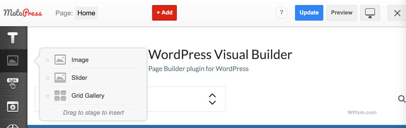 Image, Slider, Grid Gallery Content Elements MotoPress Page Builder