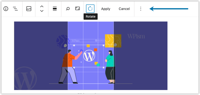 Inline Image editing WordPress 5.5