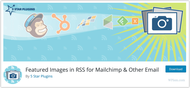 Insert Featured Images in RSS for Mailchimp Plugin