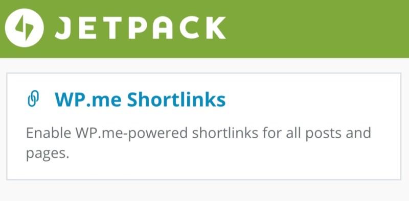 Jetpack Shortlinks for WordPress
