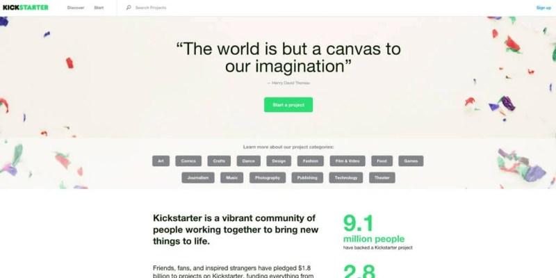 Kickstarter WordPress Project