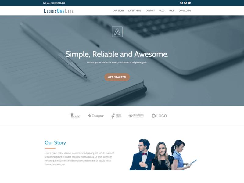 Llorix One Lite By CodeinWP WordPress Theme