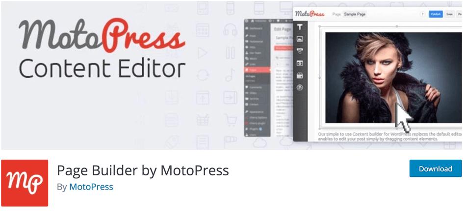 MotoPress Page Builder Free Plugin