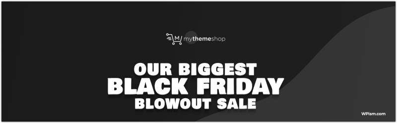 MyThemeShop Black Friday Deal 2018