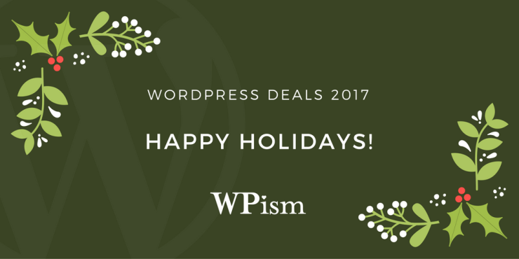 WordPress Deals 2017 – New Year Holidays Sale