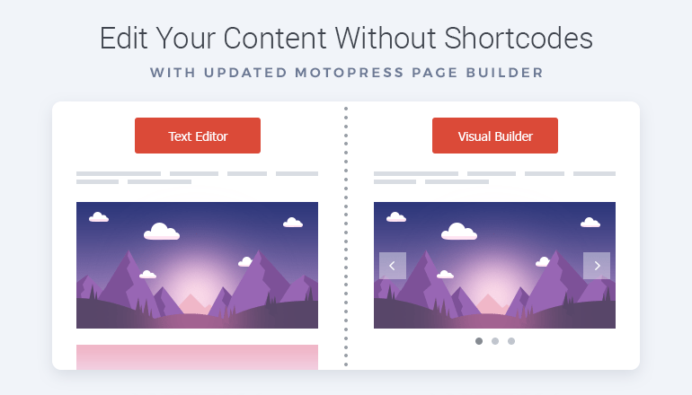No ShortCode Mess after Deactivating Plugin Page Builder MotoPress