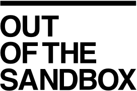 Out of The Sandbox Theme Logo Dark New WPism