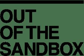 Out of The Sandbox Theme Logo Dark New WPism