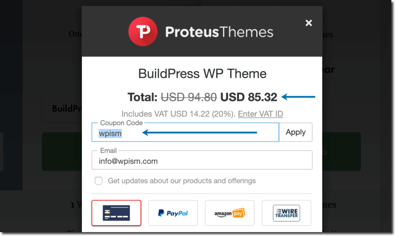 ProteusThemes WordPress Themes Coupon