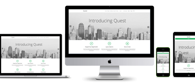 Quest WordPress Theme Pace Themes