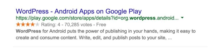 Rich Snippets WordPress App