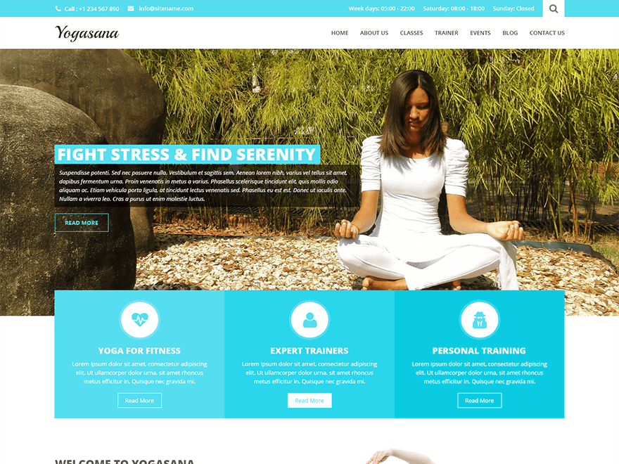 SKT Yogi Lite By SKTThemes WordPress Theme