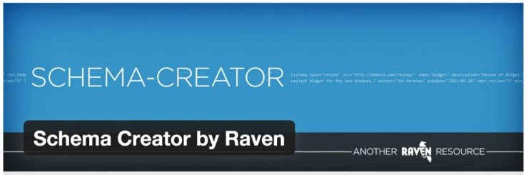 Schema Creator by Raven WordPress plugin